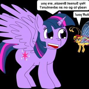 Breezies MLP Vector: Adagio Dzzle And Flutter Ponies Are Canon