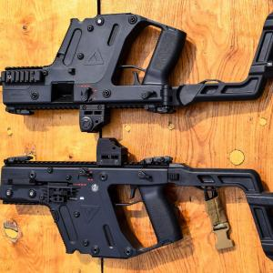 Kriss Vector Trigger Upgrade: Two Tone Krytac Kriss Vector Airsoft Gun Blueacz