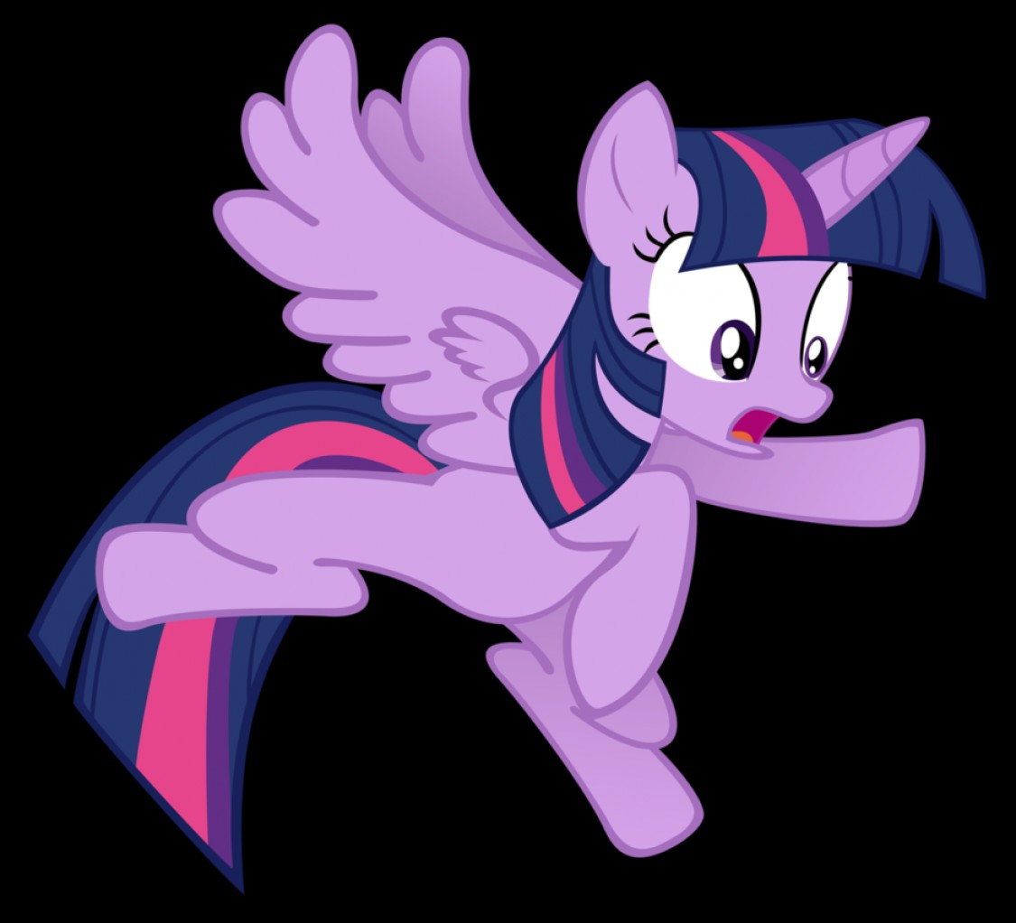 Alicorn Twilight Flying Vector: Twilight Sparkle Flying Is Hard Vector