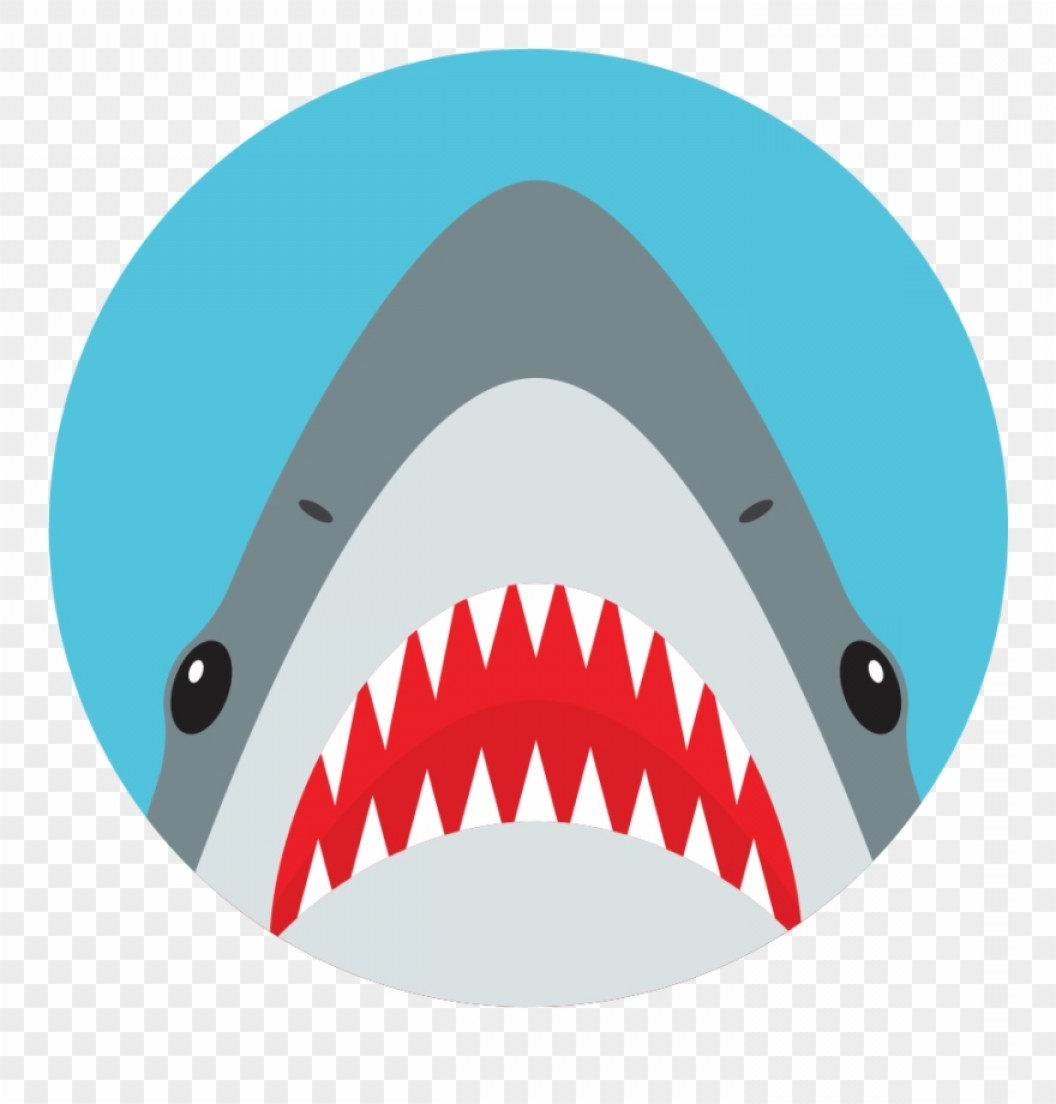 Bull Shark Jaws Vector Art: Twoxrwnuckees Original Phone Grips Shark Vector Head Clipart