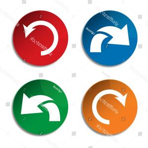Refresh Icon Vector: Undo Icon Redo Refresh Arrow Vector