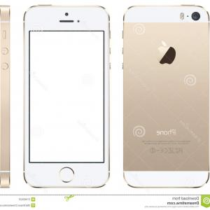 IPhone 8 Vector Front Back: Gorgeous Stock Illustration Apple Iphone Vector Illustration