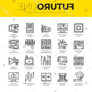 Vector Travel Cooler Parts: Artificial Intelligence Icons Set Collection Information