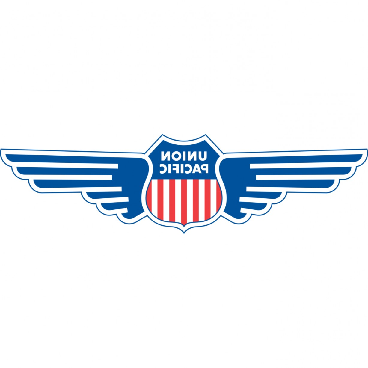 Detroit Red Wing Logo Vector: Union Pacific Diesel Logo With Wings