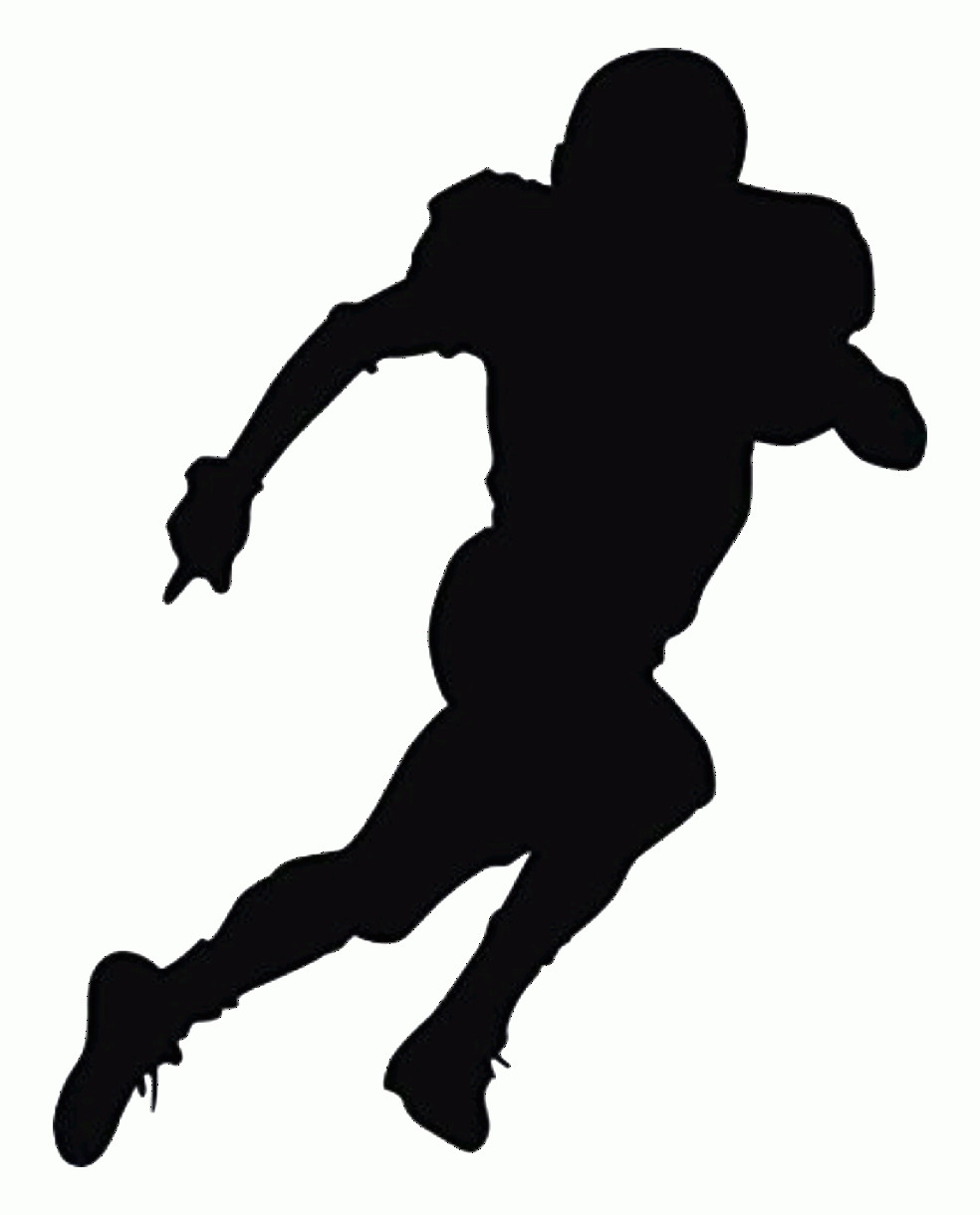 Football Laces Vector Silhouette: Uqeaeiauclipart Resolution American Football Silhouette Png