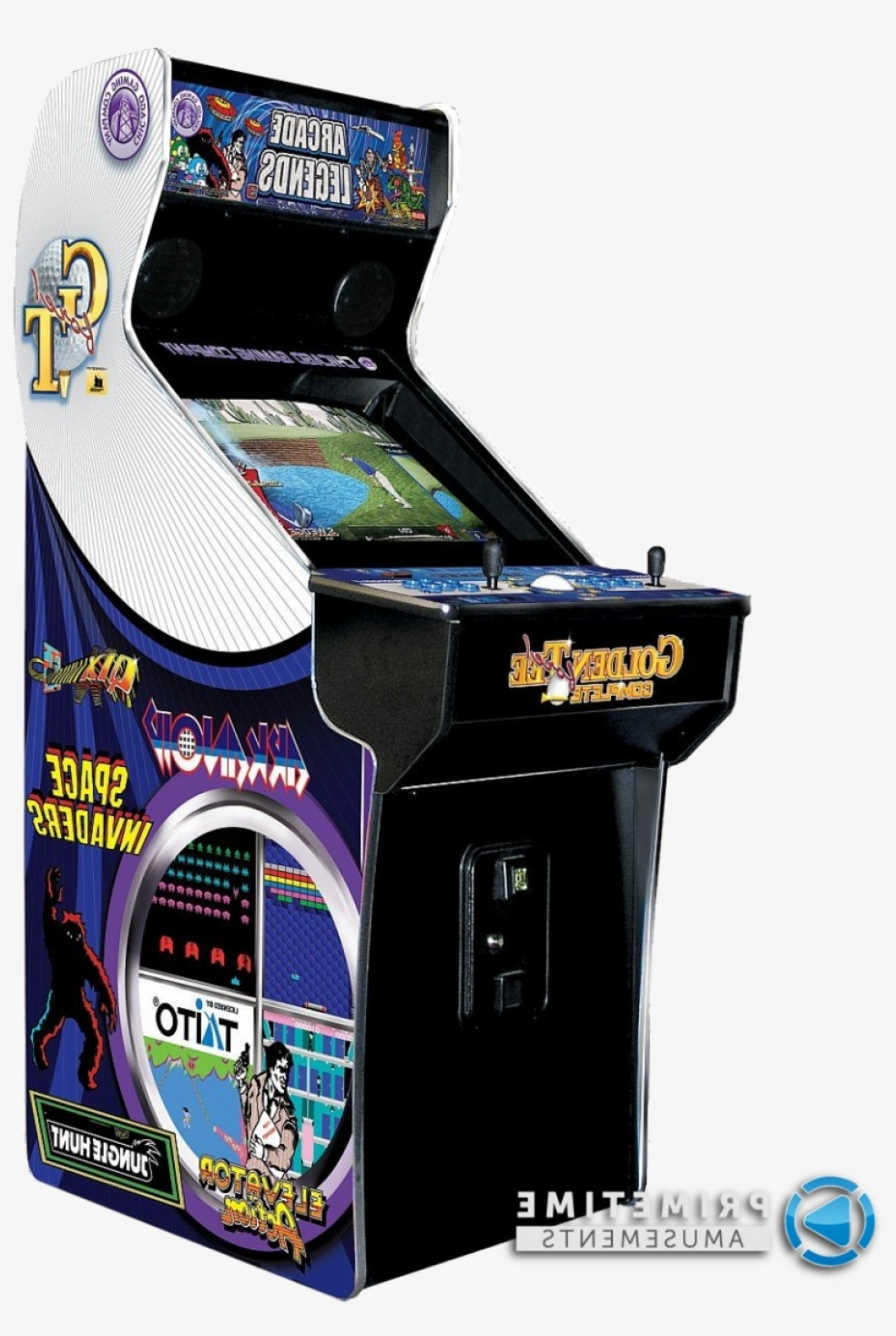 Vector Mini Arcade Machine: Uqrrrwryvector Royalty Free Library Shooter Arcade Games For