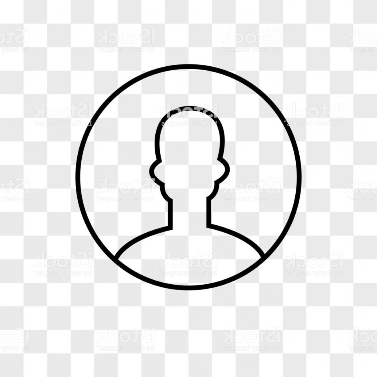 User Icon Vector Free: User Vector Icon On Transparent Background User Icon Gm