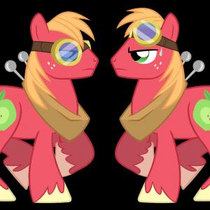 DeviantART Big Mac Vector: Uwyeaoiyscrew Loose Vector By Kyute Kitsune On Deviantart