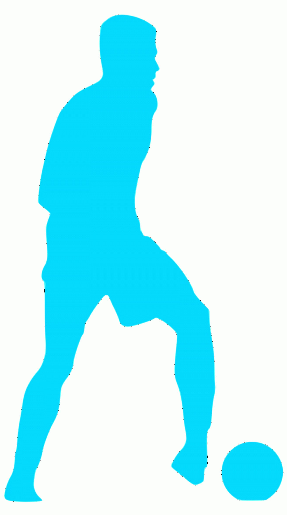 Football Laces Vector Silhouette: Uwqaoqyosilhouette Football Icons Png Football Player In