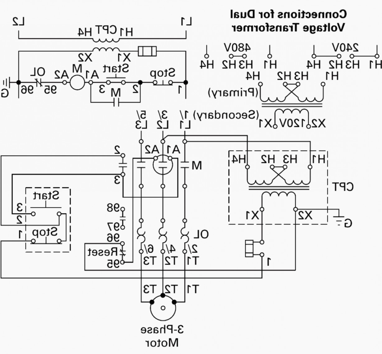 Transformer Vector Diagrams: V Phase Transformer Wiring Diagram Step Down Tags To V Picturesque For