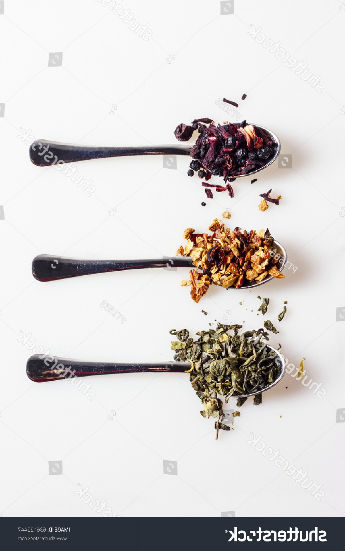 Loose- Leaf Tobacco Vector: Various Kinds On Loose Leaf Tea