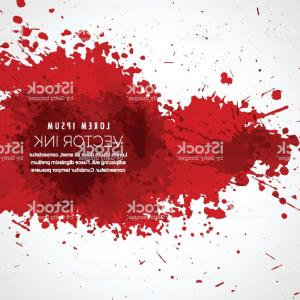 Vector Blood: Vector Blood Splatter Stain Background Gm