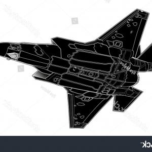 Old School Airplane Fighter Silhouette Vector: Aircraft Military Aircraft Airplane Fighter Aircraft Public Domain Image Free