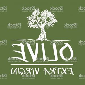 Olive Garden Logos Vector: Vector Green Olive Tree Extra Virgin Gm