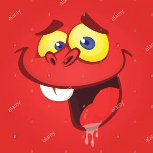 Red Angry Birds Vector: Vector Illustration Of An Angry Cartoon Bird Gm