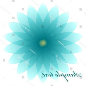 Turquoise Flower Vector: Daisies Vintage Floral Seamless Pattern Cosmos Flower Small White Flowers On Gm