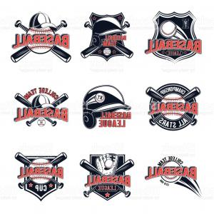 National League Baseball Logo Vector: Major League Baseball Logos Clip Art