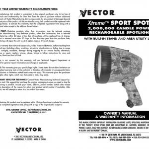 Vector Sport Spot: Vector Super Sport Spot Light Battery