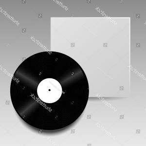 Vinyl Vector Tools: Vector Vinyl Disc Cover Template Your