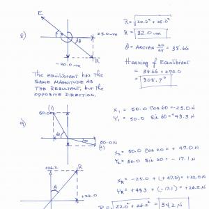 Physics Vector Addition Worksheets Answers: Ap Physics Name Period Date Vectors Worksheet