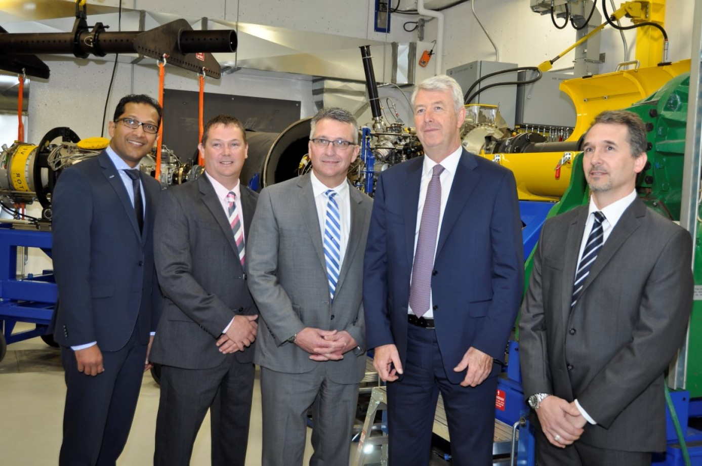 Vector Aerospace Engine Services Atlantic: Vector Aerospace Celebrates Opening Of New Canadian Turboprop Test Cell
