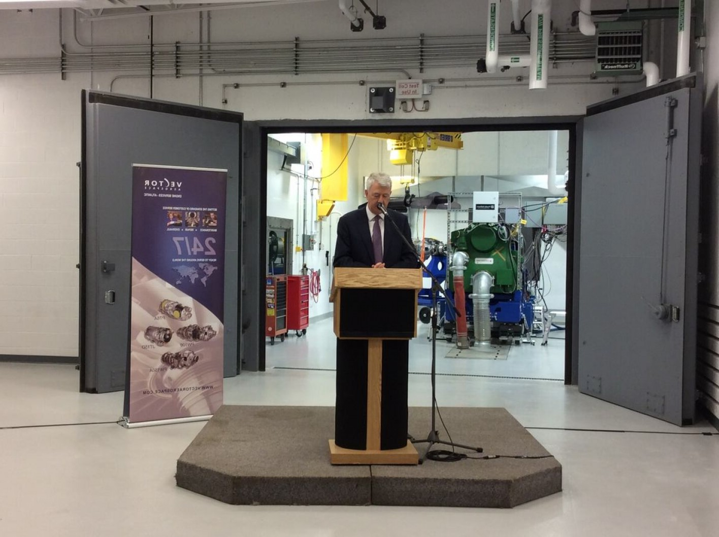 Vector Aerospace Engine Services Atlantic: Vector Aerospace Expansion Test Cell