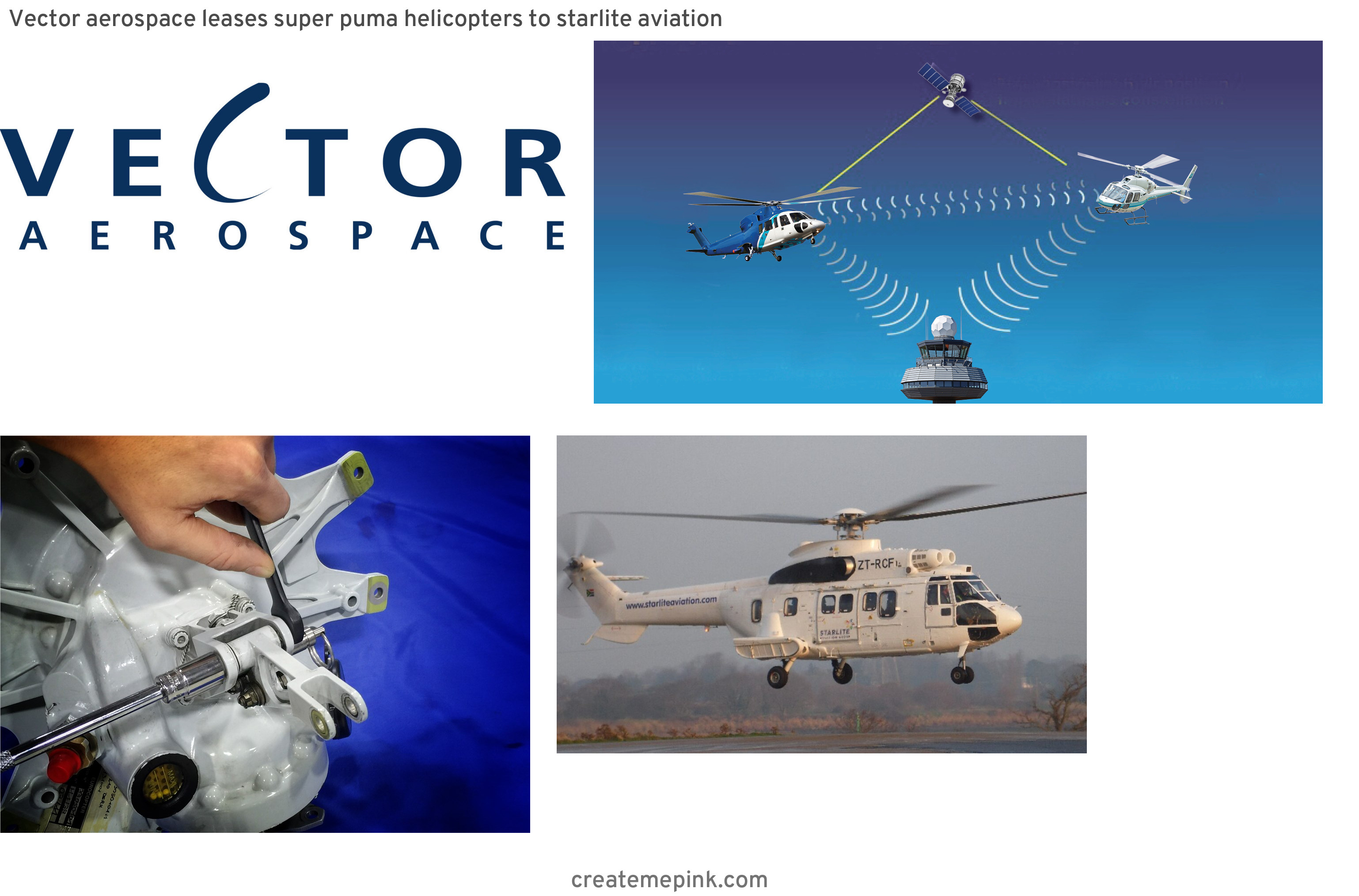 Vector Aerospace Airbus: Vector Aerospace Leases Super Puma Helicopters To Starlite Aviation