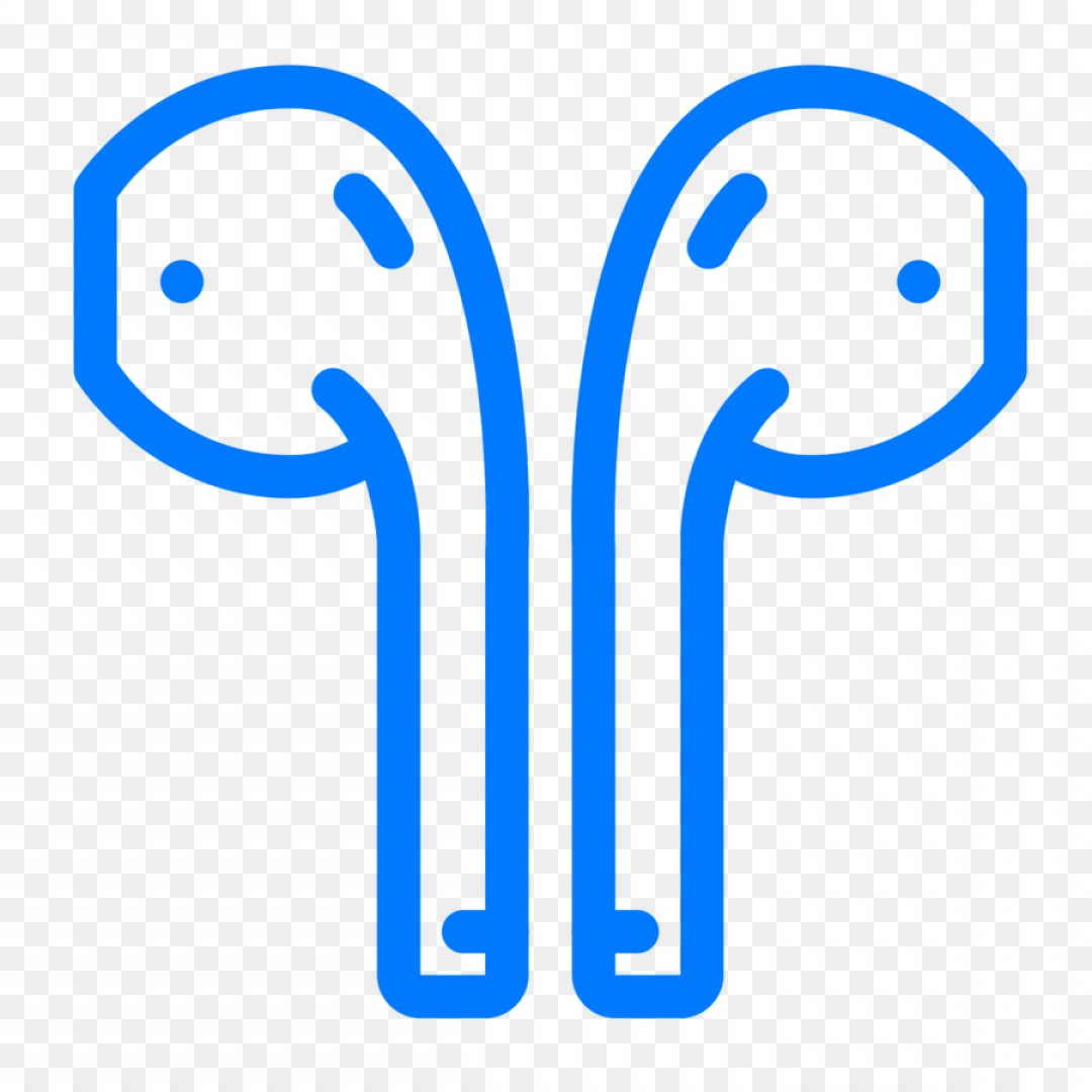 Apple IPhone Logo Vector: Vector Airpods Iphone Apple Earbuds Computer Ico Human Ear