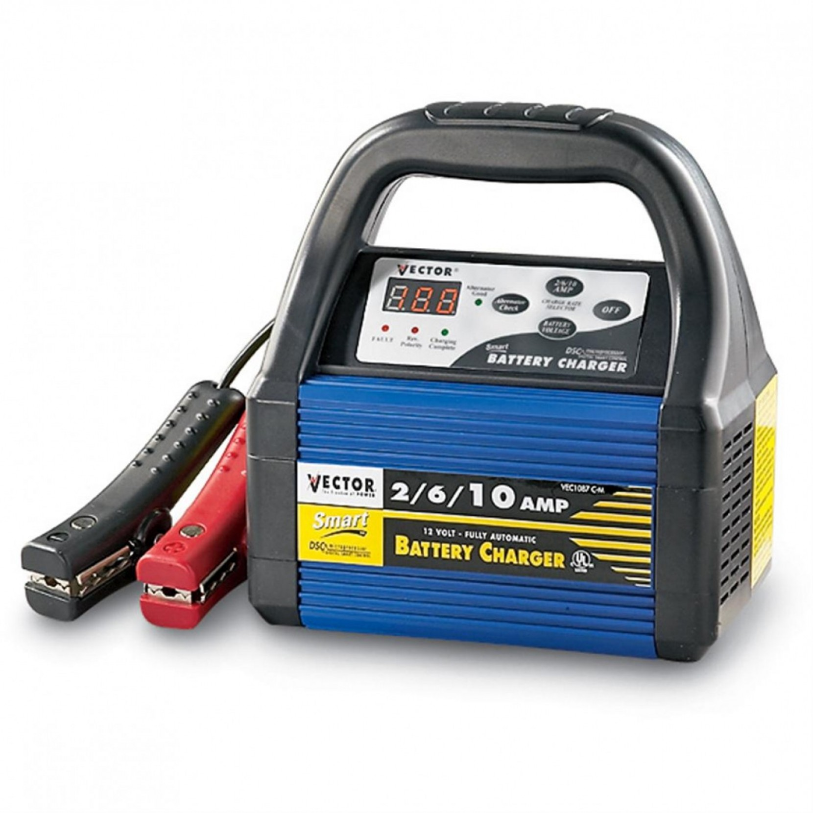 Vector Jump Starter Power Supply: Vector Amp V Deep Cycle Battery Charger