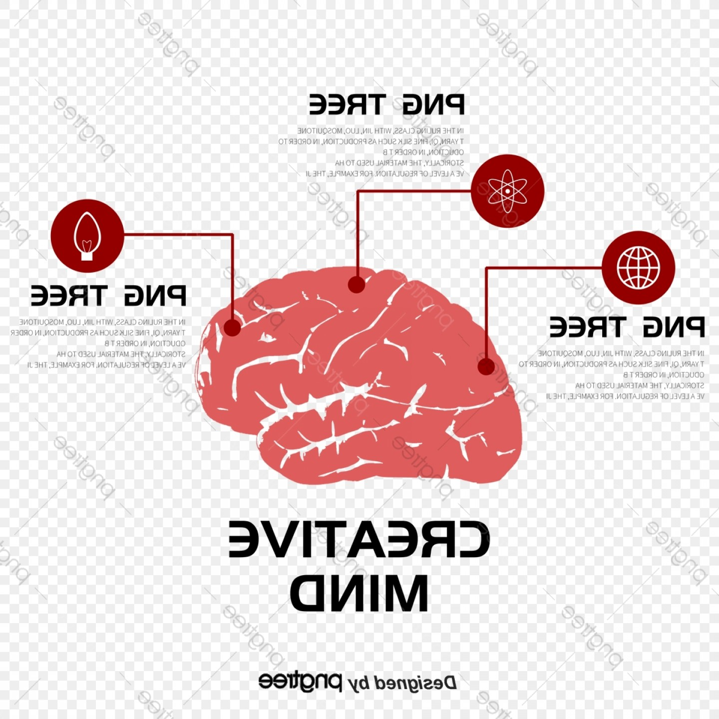 Brain Vector Art: Vector Art Of Music And The Brain