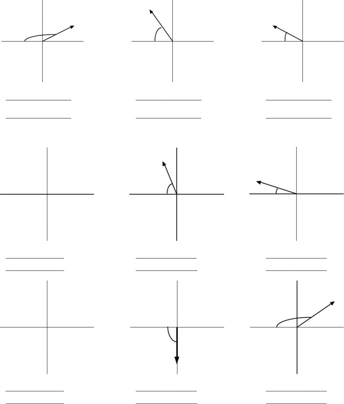 Adding Vector Components By: Vector Components And Addition Worksheet I Vector Addition Worksheet I Date