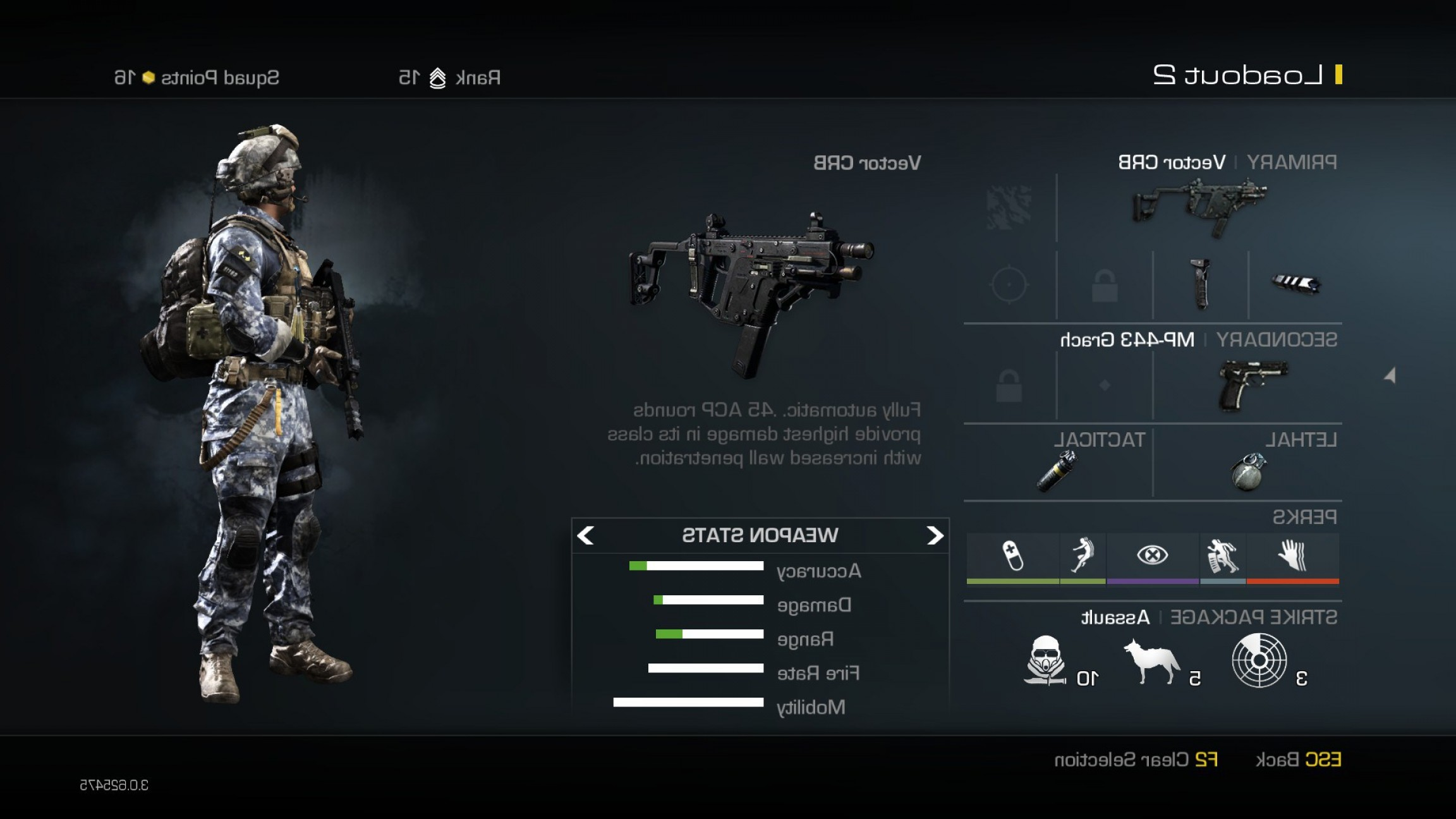 Ghosts Vector CQB: Vector Crb Submachine Gun Weapon Guide Call Of Duty Ghosts Best Soldier Setup