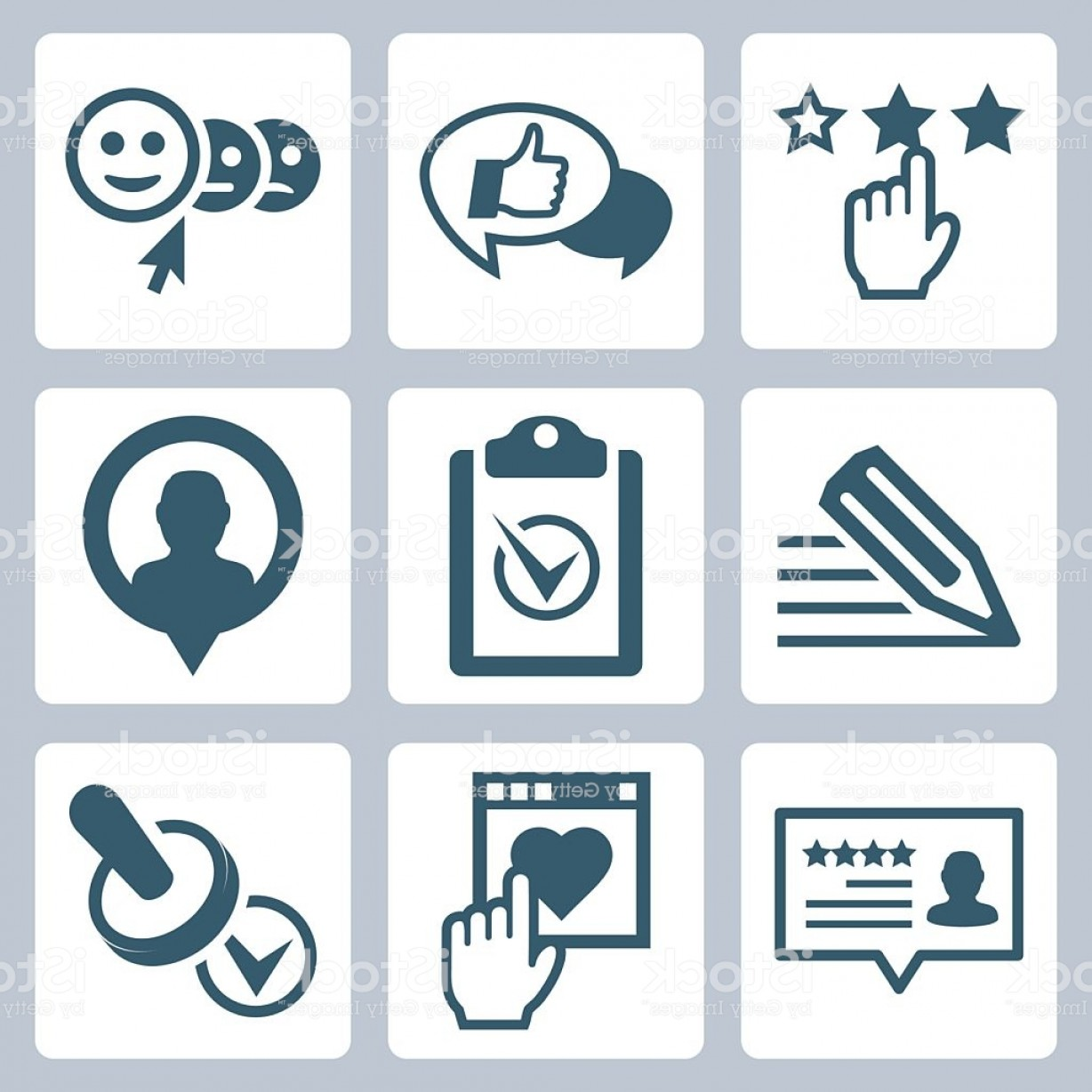 320 Vector: Vector Customer Service And Testimonials Related Icon Set Gm