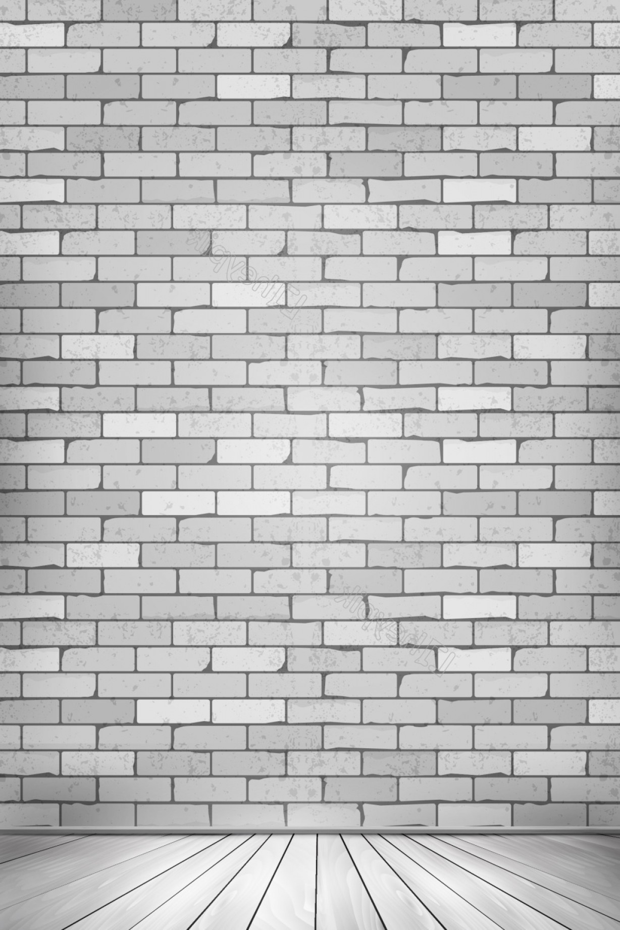 Brick Vector Ai File: Vector Dimensional Space Wall Floor Background