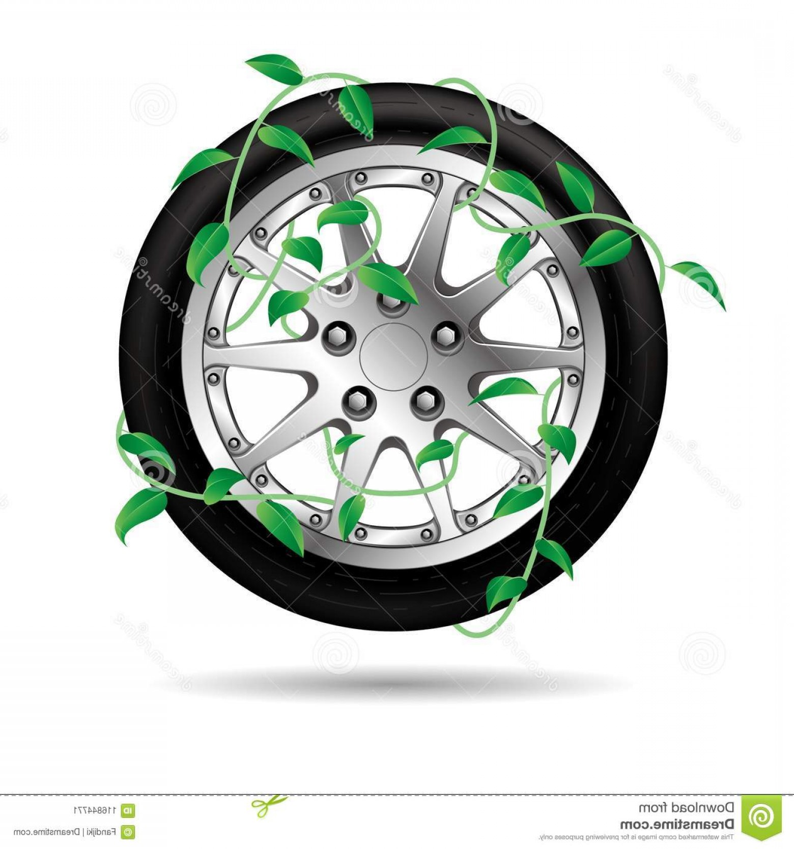 MB Wheels Vector Chrome: Vector Drawing Car Tires Vine Winding Wheels Background White Vector Drawing Car Tires Vine Winding Wheels Image