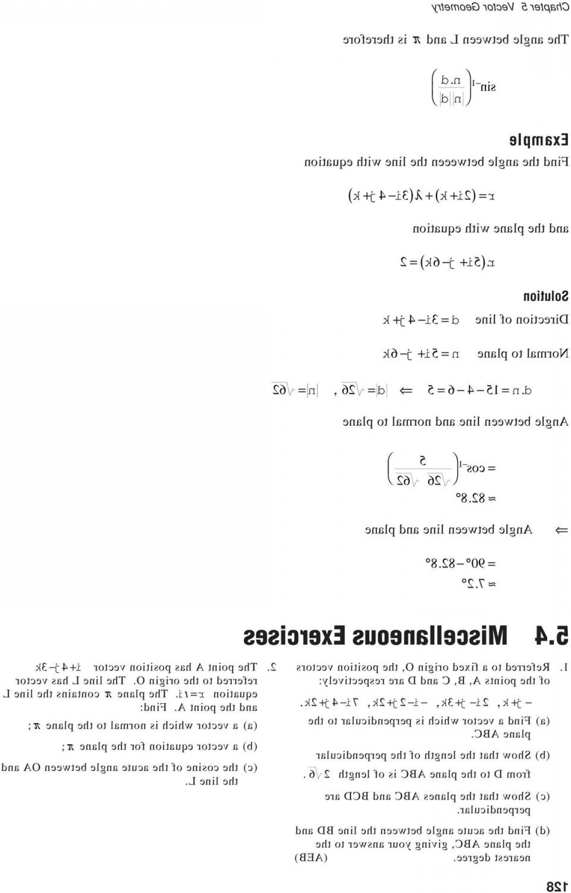 A Line Of Vector Equation R: Vector Geometry Introduction Objectives Activity