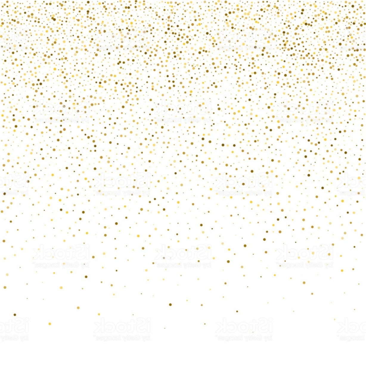 Invite Gold Dots Vector Glittter: Vector Glitter Background Cute Small Falling Golden Dots Sparkle Background Glitter Gm