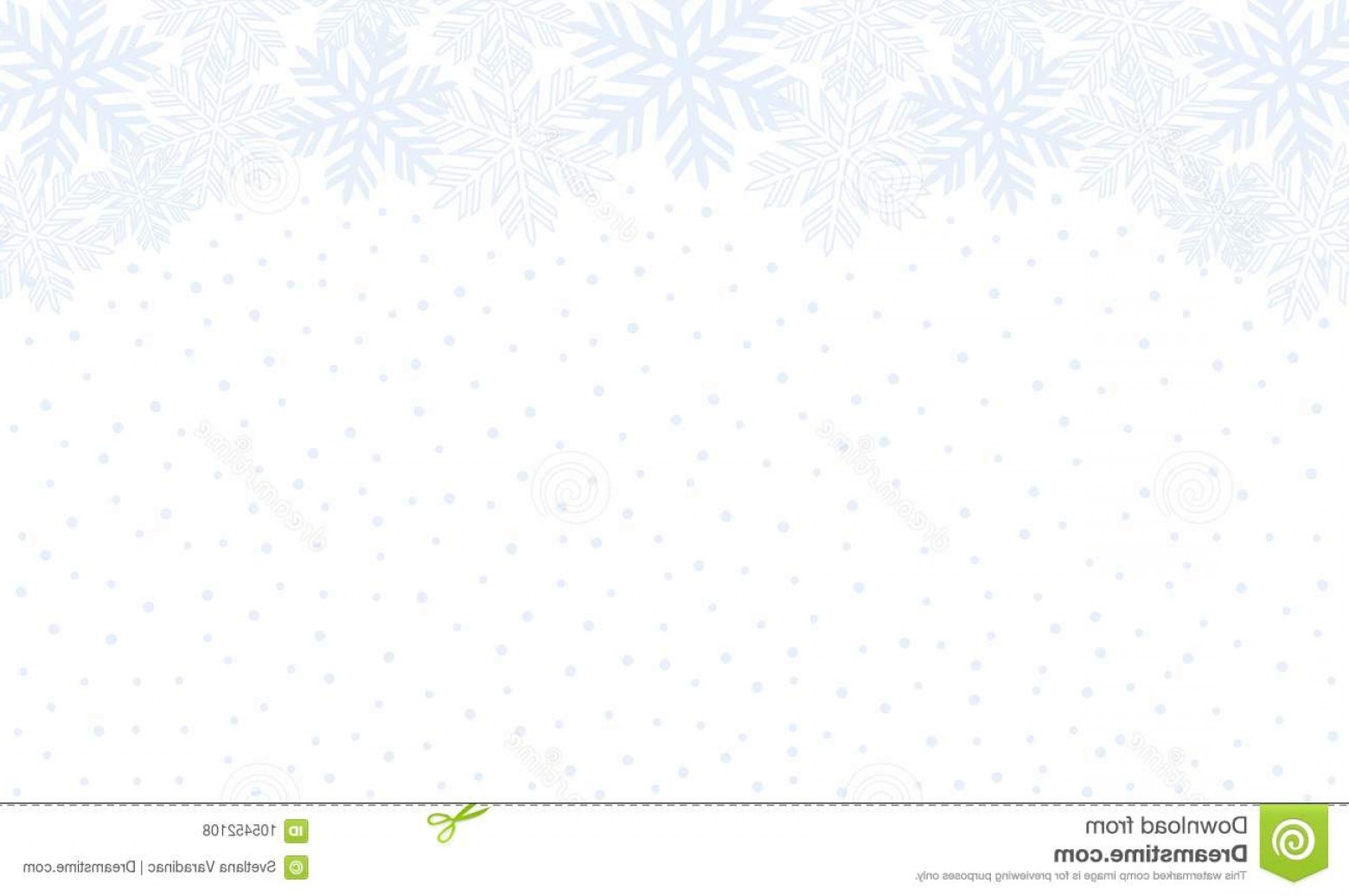 White Snowflake Vector Art: Vector Graphic Winter Patter Snowfall Background White Snowflakes Pattern Image