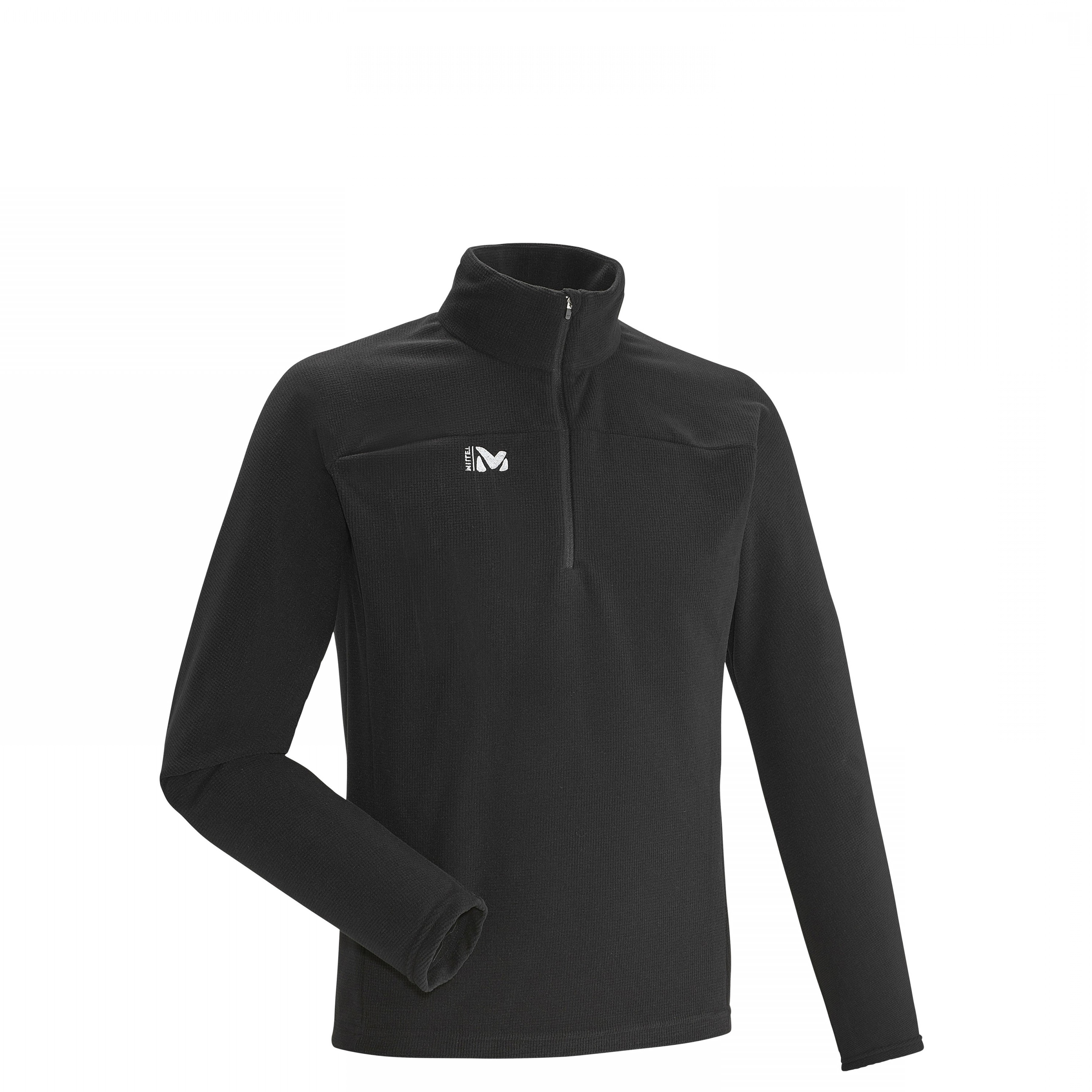 UN Specification Package Vector: Vector Grid Po Trekking Men S Fleece Jacket Black