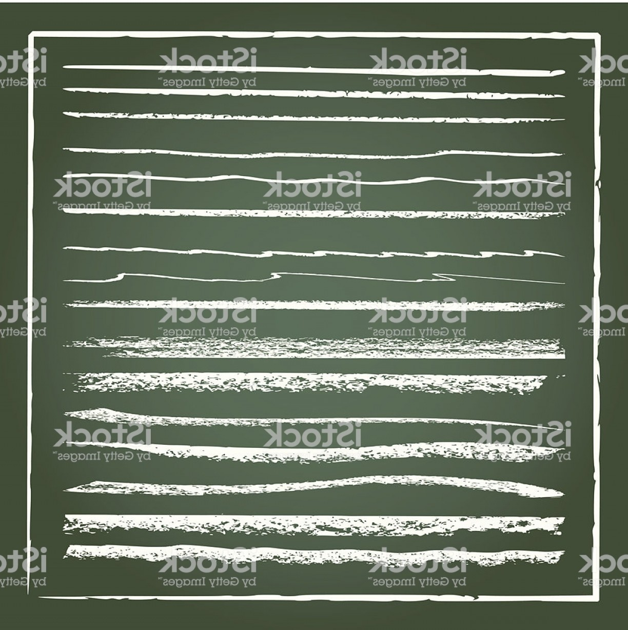 Chalk Lines Vector: Vector Grunge Chalk Lines Gm