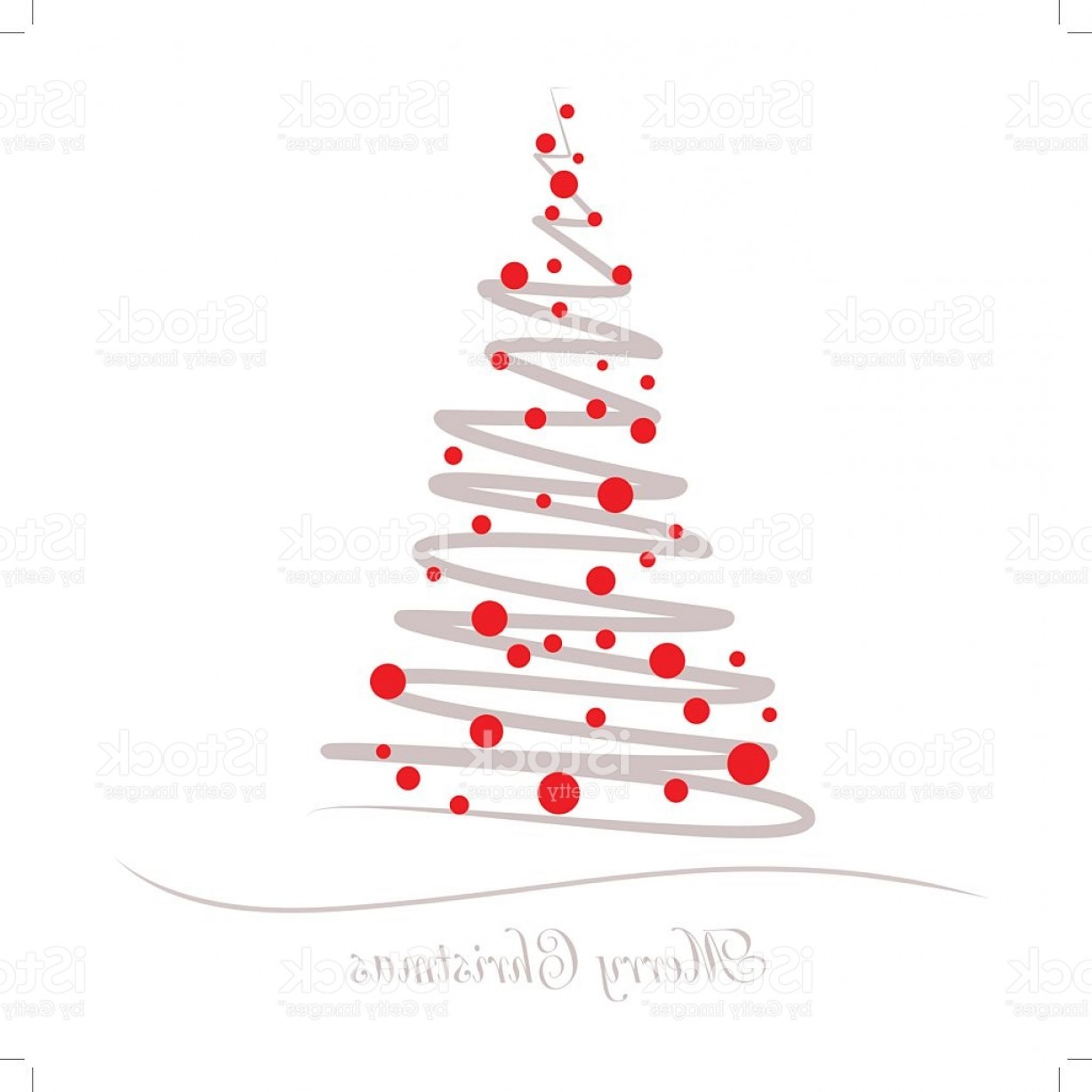 Less Christmas Tree Abstract Vector Background: Vector Illustration Abstract Christmas Tree Gm