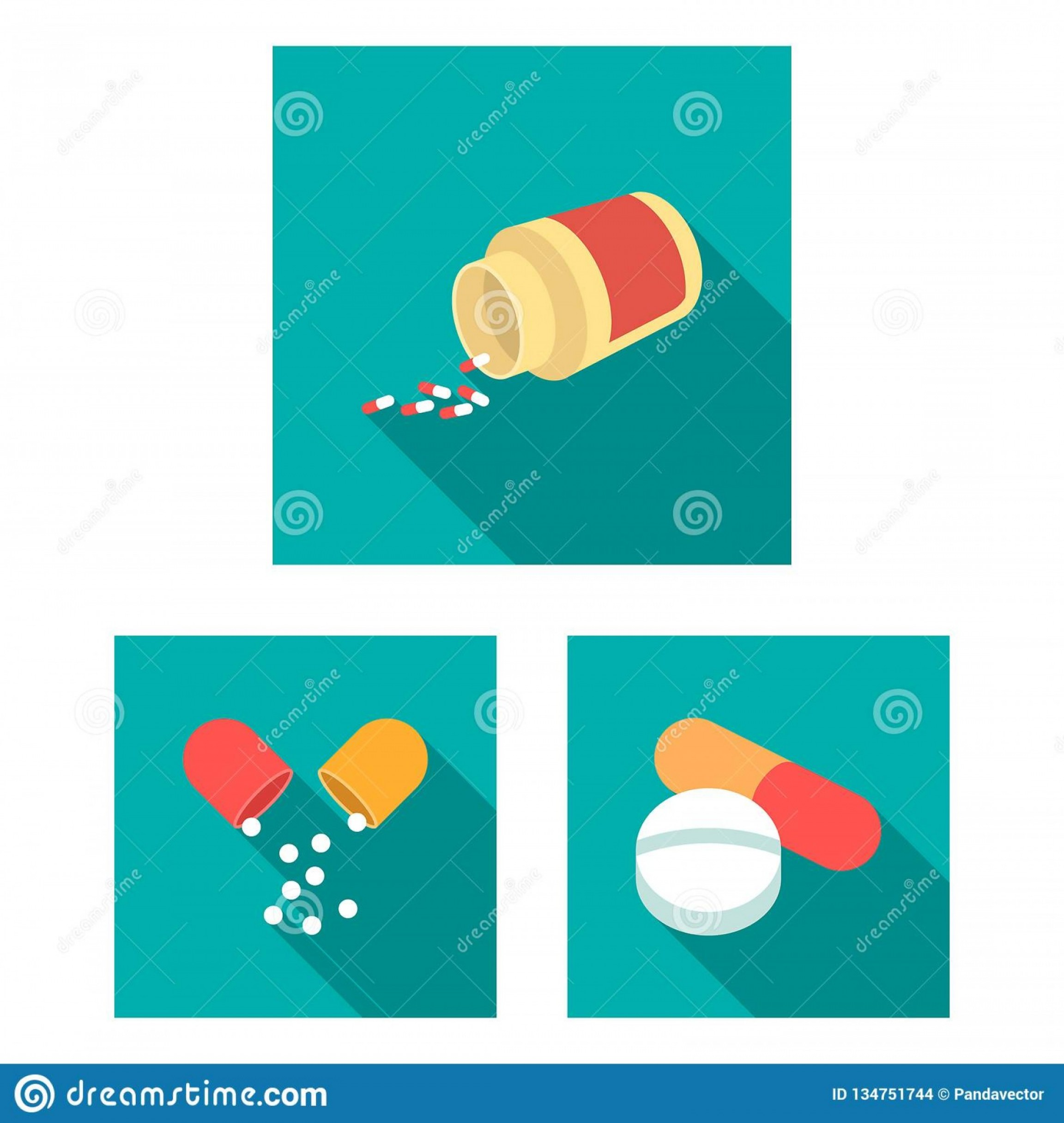 In Icon Stock Vector: Vector Illustration Pill Medicine Symbol Collection Pill Vitamin Vector Icon Stock Vector Design Pill Image