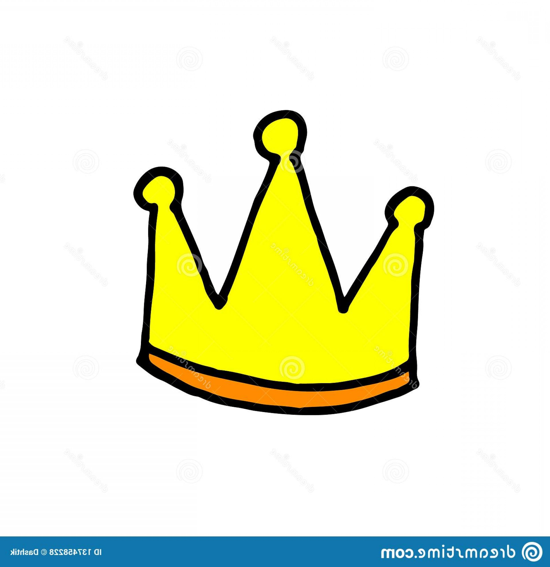 Transparent Queen Crown Vector: Vector King Queen Transparent Doodle Crown