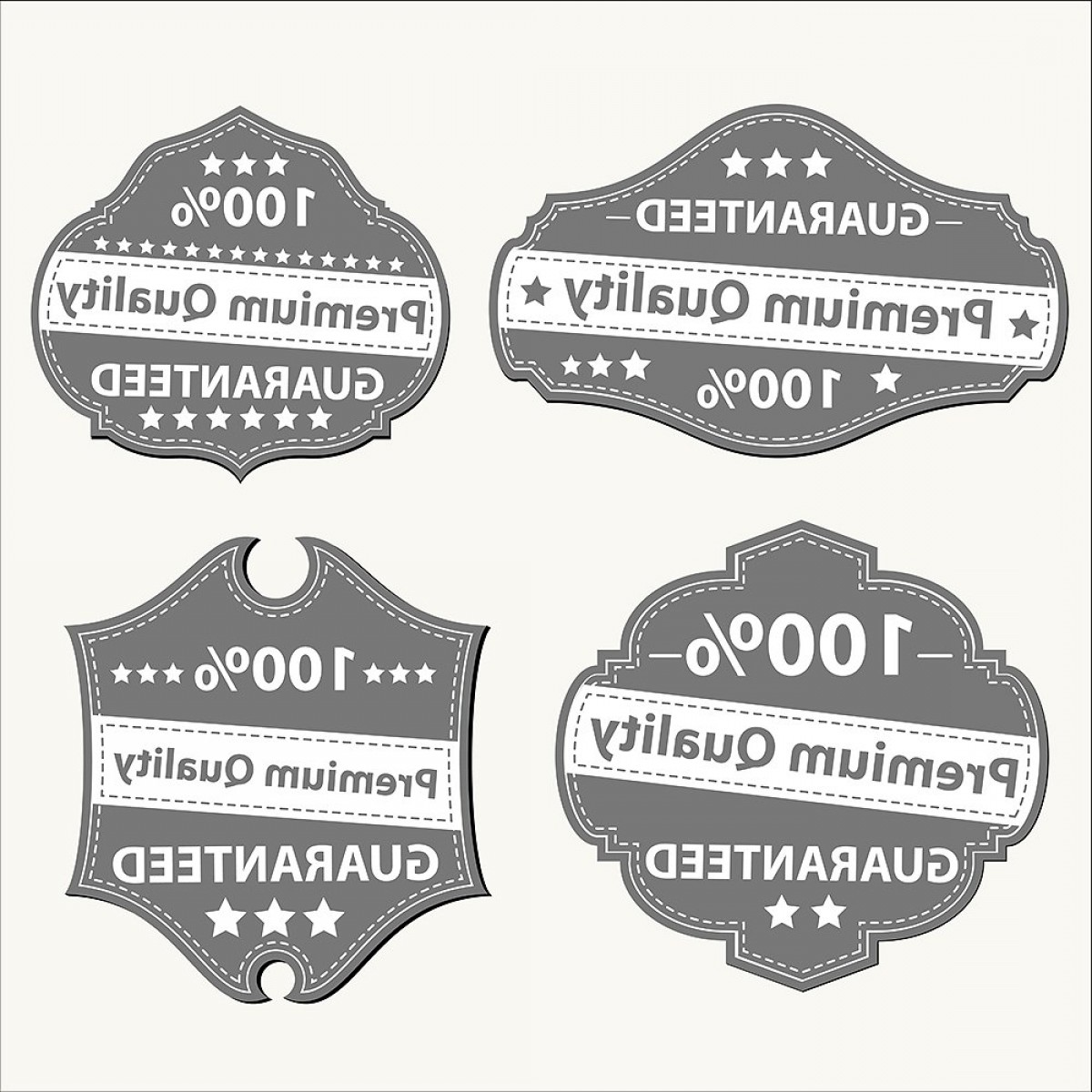 Vector Lables: Vector Labels And Badges Collection