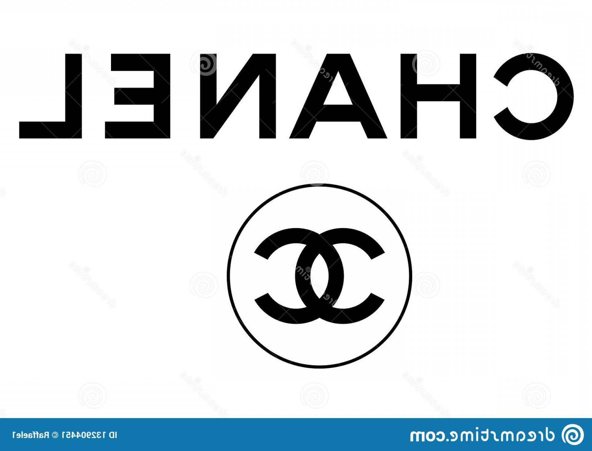 Chanel C Vector: Vector Logos Collection Most Famous Fashion Brands World Format Available Illustrator Ai Chanel Logo Image