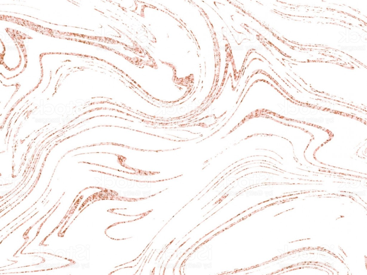 Marble With Gold Background Vector: Vector Marble Rose Gold Background Marbling Texture Design For Poster Brochure Gm