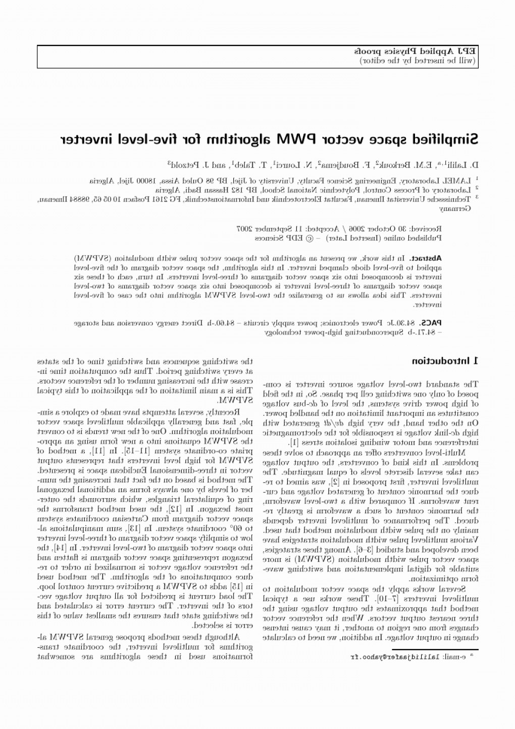Space Vector PWM: Vector Power Invertor Beautiful Pdf A Simplified Space Vector Pulse Width Modulation Algorithm For