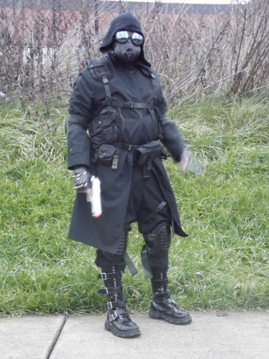 Vector Cosplay: Vector Re Orc Cosplay Finished