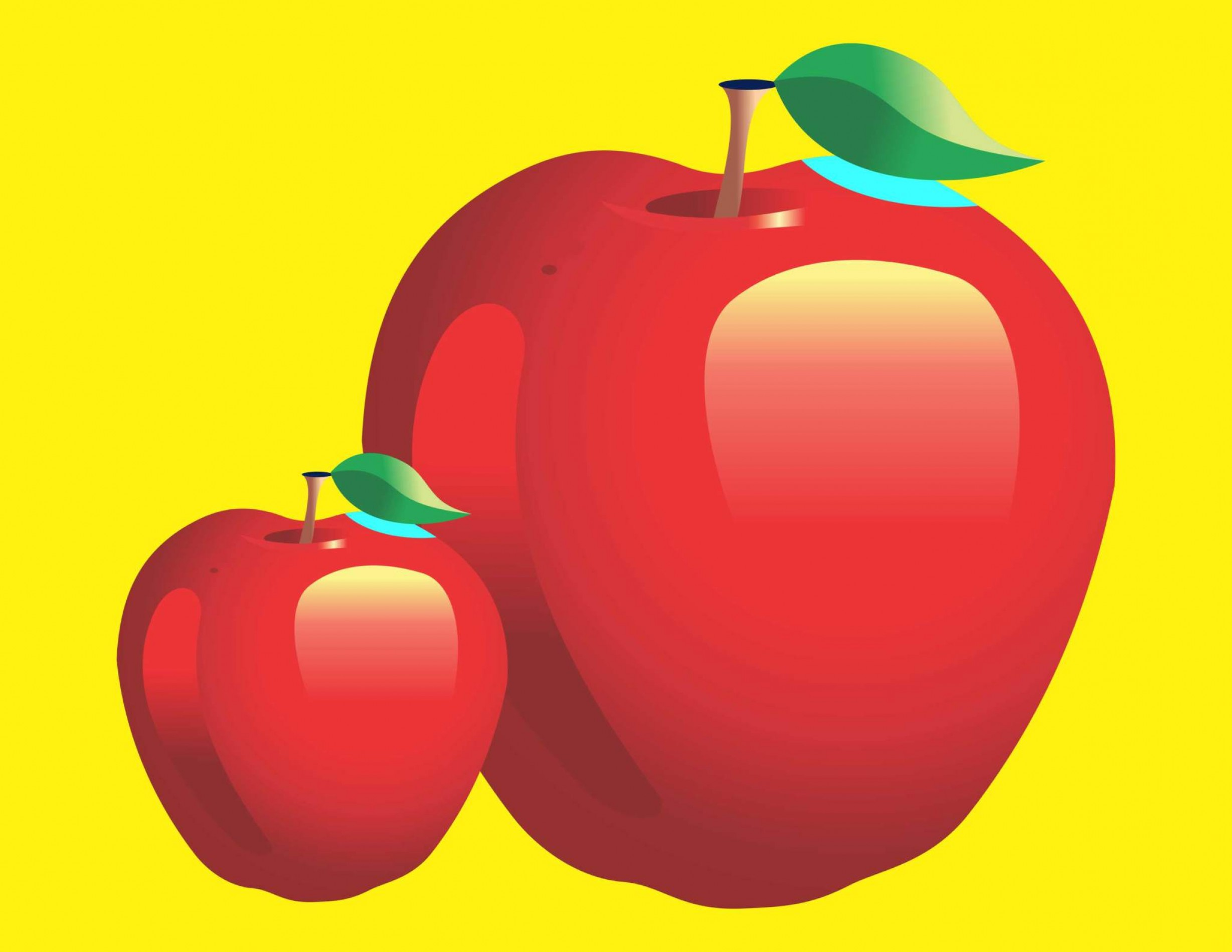Red Apple Vector Logo: Vector Red Apple Cdr File Coreldraw X