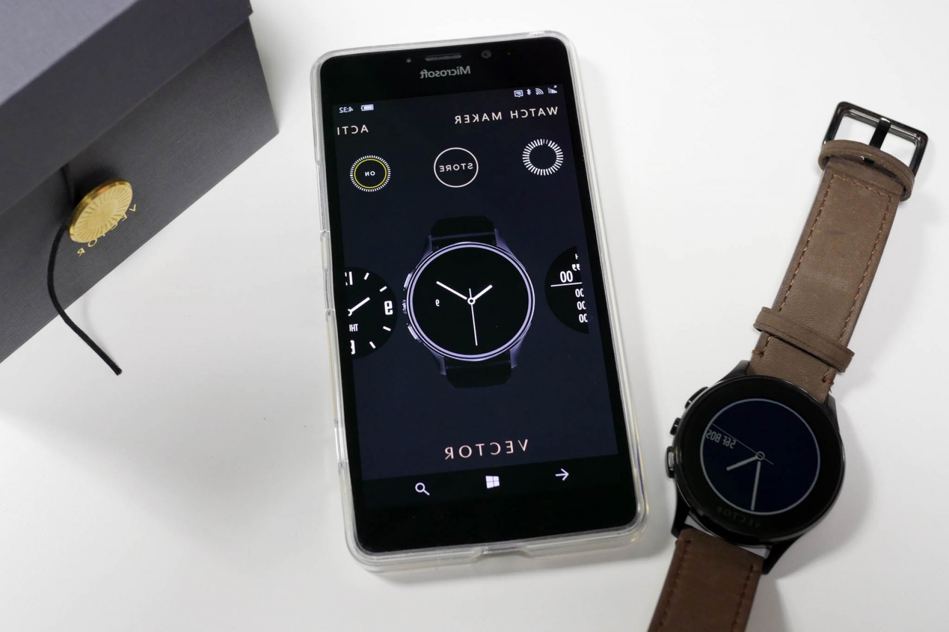 Search Logo Lumia Vector: Vector Smart Watch Updates Firmware And Windows Phone App New Features
